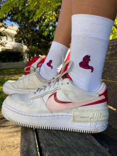 Les chaussettes emblème